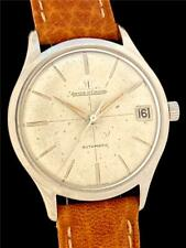 SUPERB Quality VINTAGE JAEGER LeCOULTRE Automatic Calendar Cal 881 STEEL WATCH!!
