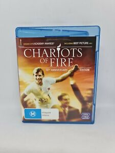 CHARIOTS OF FIRE Blu-ray Region B Very Good Condition FREE SHIPPING