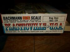PLASTICVILLE 1853 DRUG STORE - TAN FRONT - O/S SCALE - O/B