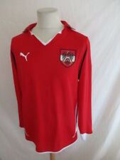 Camiseta de fútbol vintage equipo d' Austria Puma Rojo Talla L