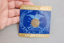 NRA National Rifle Association We The People Lapel Pin Incorporated 1871 Bronze
