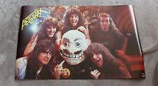 Anthrax 1988 Scott Ian Charlie Benante Frank Bello Funky Poster #3221 Ex