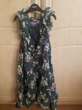 BNWT dorothy perkins TUNIC dress GREEN FLORAL DESIGN SIZE LARGE 14/16/18