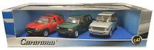 1:43 Scale Cararama  Land Rover 3-Car Set - Freelander - Range Rover - MIB