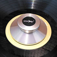 Amari LP Vinyl Stainless Steel Disc Stabilizer Turntable Record Weight Clamp