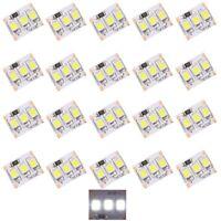 S414 - 20 Stück MINI LED Beleuchtung 1,25cm WEIß Häuser Waggons RC Modelle