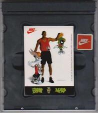 1993 Nike Looney Tunes Michael Jordan Space Jam Basketball Stickers Set In Case