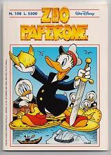 Carl Barks ZIO PAPERONE N. 108  Walt Disney Company Italia 1998
