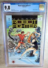 Magnus Robot Fighter #1 - Valiant 1991 CGC 9.8 NM/MT White Pages - Comic I0049