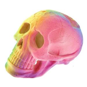 Aquarium Tank Ornament Classic Aquatics Fluorescent Skull Decoration 3410
