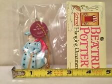 BEATRIX POTTER 80's SCHMID CHRISTMAS PETER RABBIT OLD Mr BUNNY ORNAMENT Japan