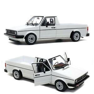 1/18 Solido Volkswagen Caddy MK1 White 1982 Neuf Boîte Livraison Domicile
