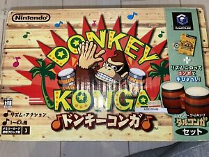 Donkey Konga  Nintendo GameCube Box & Manual included Japan