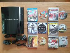 SONY PLAYSTATION 3 PS3 1TB CONSOLE BUNDLE + 6 GAMES **FREE P&P**