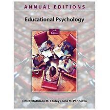 Educational Psychology by Gina Pannozzo and Kathleen Cauley (2013, Paperback)