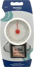MUSTAD SPRING FISHING SCALE 50LB-22KG + TAPE MEASURE MSTD-52A