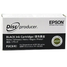 Epson Discproducer PP-100 Black Ink Cart. (PJIC6) (C13S020452)