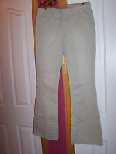 LEVI BEIGE JUNIOR JEANS SIZE 5 MEDIUM SUPER LOW NEW, NO TAGS MADE IN HONG KONG