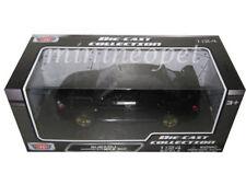 MOTORMAX 73330 SUBARU IMPREZA WRX STI 1/24 DIECAST MODEL CAR BLACK