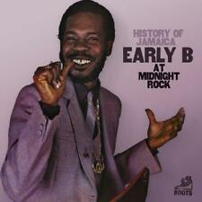 Early B - History Of Jamaica Early B At Midnight Rock (NEW CD)
