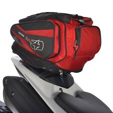 OXFORD T30R Tail pack Black/Red Lifetime Motorcycle tail bag Luggage OL336
