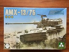 Takom 1/35th Scale I.D.F. Light Tank AMX-13/75 2 n 1 Plastic Tank Model 2036 F/S