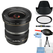 Canon EF-S 10-22mm f/3.5-4.5 USM Lens 9518A002 Starter UV Filter Bundle