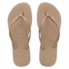 Original Havaianas Women Flip Flops Slim  Crystal SMALL  DISCOLORATIONS