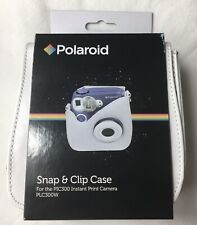 New Polaroid Snap & Clip Camera Case Strap Polaroid PIC300 Instant Camera White