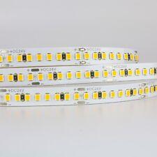 LED Strip Light 1m, 3m 5m rolls, 24V, warm white, SMD2835 chips, power supply