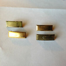 VINTAGE MILITARY- OFFICER FIRST LIEUTENANT AND SECOND LIEUTENANT BARS- 4