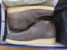 SEBAGO KOALA BROWN SUEDE BOOTS/FOOTWEAR,LACE-UP,SIZE UK 4.5,EU 38
