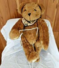 "Vermont Teddy Bear 16"" Brown Jointed Plush Hiking Malibu Creek State Park"