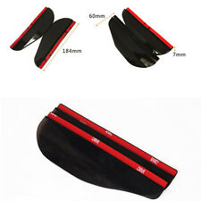 2x Universal Car Rear View Side Mirror Rain Board Sun Visor Shade Shield Useful