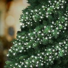480 Bright White LED Cluster String Lights Christmas Tree Decoration Fairy Light