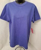 Liz Sport NWT Womens Blue T Shirt Top Blouse Size S