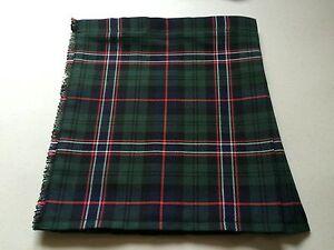Scottish National Tartan Baby Kilt 0-3 m - 2-3 y (Waist & Length Sizes Shown)