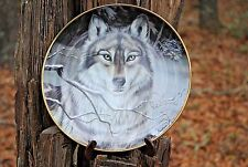 Call of the Wild Plate and Stand by Cassandra Graham Franklin Mint #Hg4952