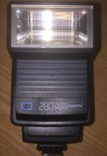 Nissin 280xp Electronic Flash Thyristor Auto Bounce Reflector Good Condition
