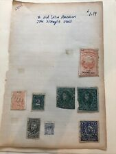New listing Old Latin America Tax Stamps Used- Lot A-68148