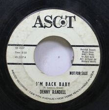Hear! Teen Promo 45 Denny Randell - I'M Back Baby / Blues For A Four String Guit