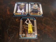 2003-04 Bowman Chrome Basketball---Rookies---Stars Only---Lot Of 3---See List