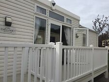 Caravan to rent Marton Mere Blackpool villa delux Sleeps 8