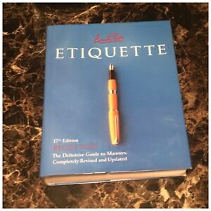 Emily Posts Etiquette 17th Edition Guide To Manners Hardcover B000GG4LSU