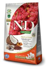 Farmina N/D Quinoa Grain Free Adult All Breed Skin & Coat Aringhe Cocco 7 Kg