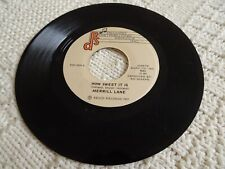 MERRILL LANE  HOW SWEET IT IS/MIDNIGHT RENDEZVOUS  RDS 2039 M-