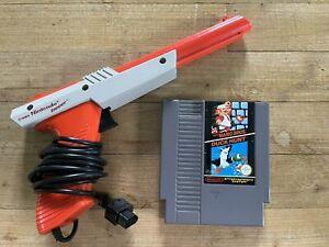 Cartouche Nintendo NES Super Mario Bros Duck Hunt + Zapper