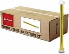 "Catchmaster Gold Stick 962 Large 24"" Fly Trap - Box of 12"
