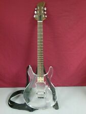 **PROJECT** 6 String Clear Body Lucite Electric Guitar