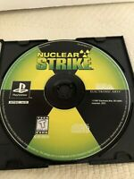 Nuclear Strike (Sony PlayStation 1, 1997) PS1 Game Disc Only - Tested & Working
